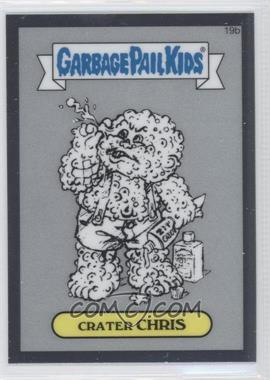 2013 Topps Garbage Pail Kids Chrome Pencil Art Concept Sketches #19b - Crater Chris