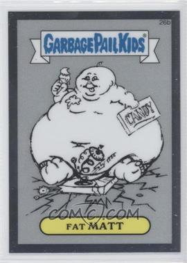 2013 Topps Garbage Pail Kids Chrome Pencil Art Concept Sketches #26b - [Missing]