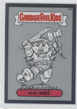 2013 Topps Garbage Pail Kids Chrome Pencil Art Concept Sketches #33a - Mad Mike