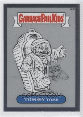2013 Topps Garbage Pail Kids Chrome Pencil Art Concept Sketches #36b - Tommy Tomb