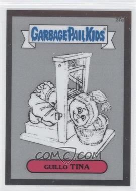 2013 Topps Garbage Pail Kids Chrome Pencil Art Concept Sketches #37a - Guillo Tina