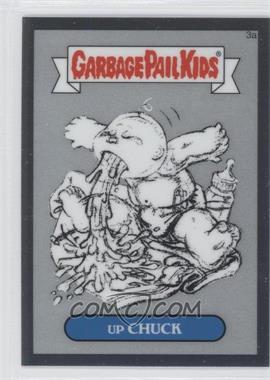 2013 Topps Garbage Pail Kids Chrome Pencil Art Concept Sketches #3a - Up Chuck