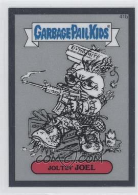 2013 Topps Garbage Pail Kids Chrome Pencil Art Concept Sketches #41b - Joltin' Joel
