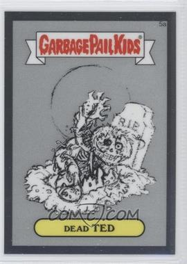2013 Topps Garbage Pail Kids Chrome Pencil Art Concept Sketches #5a - Dead Ted