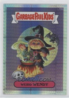 2013 Topps Garbage Pail Kids Chrome Prism Refractor #16a - Weird Wendy