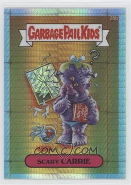 2013 Topps Garbage Pail Kids Chrome Prism Refractor #25b - Scary Carrie