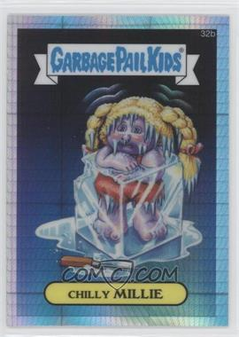 2013 Topps Garbage Pail Kids Chrome Prism Refractor #32b - Chilly Millie