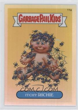 2013 Topps Garbage Pail Kids Chrome Refractor #11a - Itchy Richie