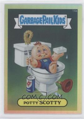2013 Topps Garbage Pail Kids Chrome Refractor #14a - [Missing]
