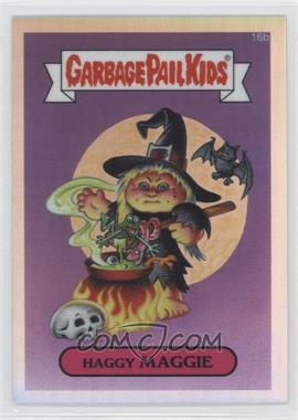 2013 Topps Garbage Pail Kids Chrome Refractor #16b - Haggy Maggie
