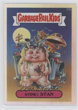 2013 Topps Garbage Pail Kids Chrome Refractor #22b - Stinky Stan