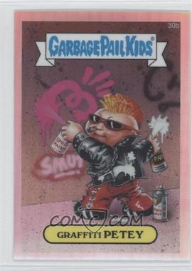 2013 Topps Garbage Pail Kids Chrome Refractor #30b - Graffiti Petey