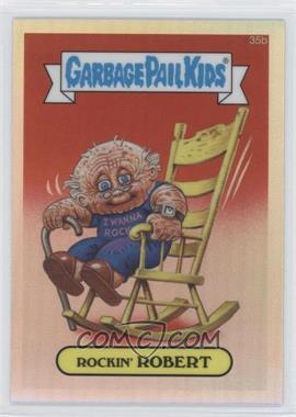 2013 Topps Garbage Pail Kids Chrome Refractor #35b - [Missing]