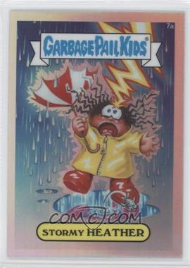 2013 Topps Garbage Pail Kids Chrome Refractor #7a - [Missing]