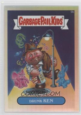2013 Topps Garbage Pail Kids Chrome Refractor #9b - Drunk Ken