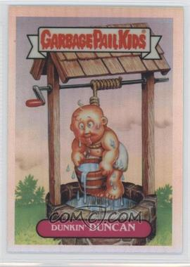 2013 Topps Garbage Pail Kids Chrome Refractor #L14a - Dunkin Duncan