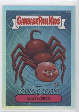 2013 Topps Garbage Pail Kids Chrome Refractor #L4a - Arach Ned