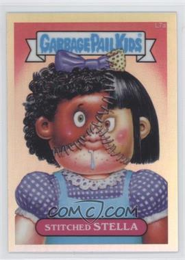 2013 Topps Garbage Pail Kids Chrome Refractor #L7a - Stitched Stella