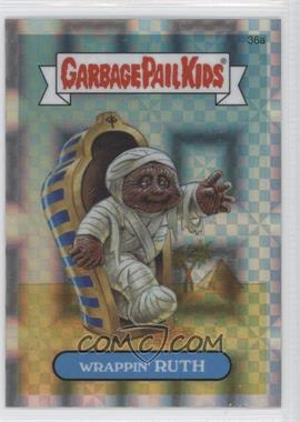 2013 Topps Garbage Pail Kids Chrome X-Fractor #36a - Wrappin' Ruth