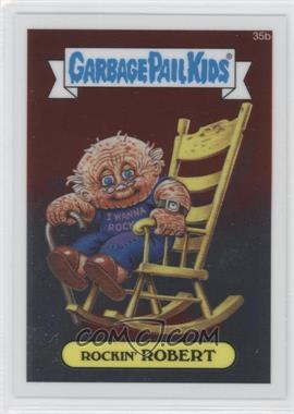 2013 Topps Garbage Pail Kids Chrome #35b - [Missing]