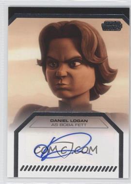 2013 Topps Star Wars Galactic Files Series 2 - Autographs #N/A - Daniel Logan as Boba Fett