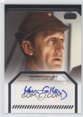 2013 Topps Star Wars Galactic Files Series 2 - Autographs #N/A - Kenneth Colley as Captain Piett