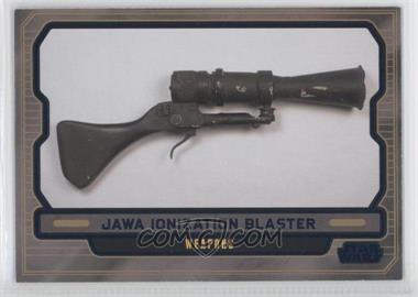 2013 Topps Star Wars Galactic Files Series 2 - [Base] - Blue #621 - Jawa Ionization Blaster /350