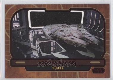 2013 Topps Star Wars Galactic Files Series 2 - [Base] - Red #658 - Docking Bay 327 /35