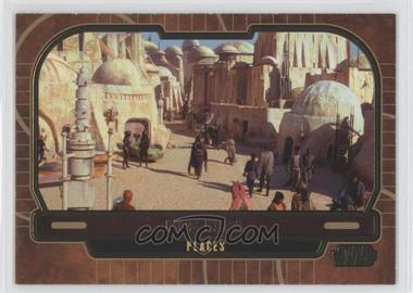 2013 Topps Star Wars Galactic Files Series 2 Gold #39 - Mos Espa /10