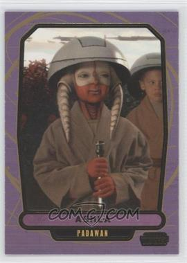 2013 Topps Star Wars Galactic Files Series 2 Gold #430 - Ashla /10