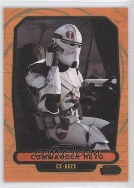 2013 Topps Star Wars Galactic Files Series 2 Gold #456 - Commander Neyo /10