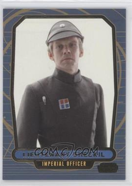 2013 Topps Star Wars Galactic Files Series 2 Gold #506 - Lieutenant Sheckil /10