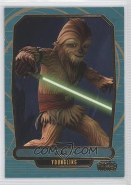 2013 Topps Star Wars Galactic Files Series 2 Gold #576 - [Missing] /10