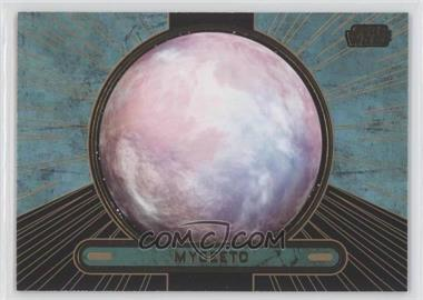 2013 Topps Star Wars Galactic Files Series 2 Gold #681 - [Missing] /10