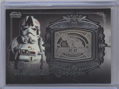 2013 Topps Star Wars Galactic Files Series 2 Medallion Relics #MD-11 - AT-AT Driver (AT-AT)