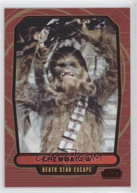 2013 Topps Star Wars Galactic Files Series 2 Red #467 - Chewbacca /35