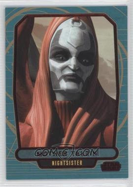 2013 Topps Star Wars Galactic Files Series 2 Red #586 - Mother Talzin /35