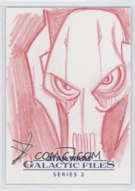 2013 Topps Star Wars Galactic Files Series 2 Sketch Cards #N/A - [Missing] /1