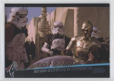 2013 Topps Star Wars Galactic Files Series 2 The Weak Minded #WM-1 - [Missing]