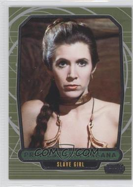 2013 Topps Star Wars Galactic Files Series 2 #510.2 - Princess Leia Organa (Slave Girl)