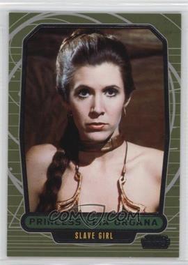 2013 Topps Star Wars Galactic Files Series 2 #510.2 - Princess Leia Organa (Slave Girl)