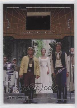2013 Topps Star Wars Illustrated: A New Hope Film Cel Relic #FR-20 - [Missing]