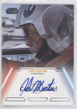 2013 Topps Star Wars Jedi Legacy - Autographs #JOMO - John Morton as Dak Ralter