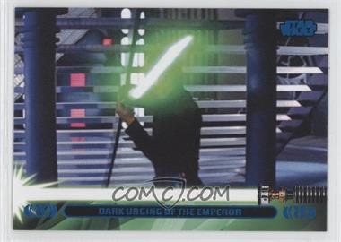 2013 Topps Star Wars Jedi Legacy - [Base] - Blue #42L - Dark Urging of the Emperor (Luke Skywalker)