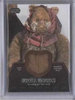 2013 Topps Star Wars Jedi Legacy - Ewok Fur Relics #ER-4 - Widdle Warrick