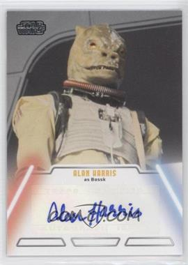 2013 Topps Star Wars Jedi Legacy Autographs #ALHA - Alan Harris as Bossk