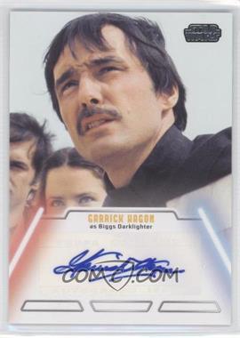 2013 Topps Star Wars Jedi Legacy Autographs #GAHA - Garrick Hagon as Biggs Darklighter