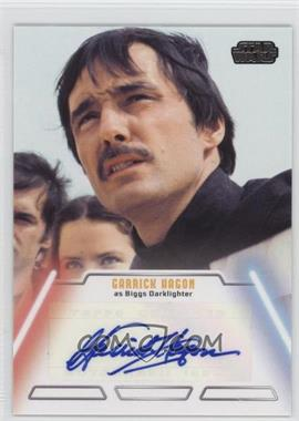 2013 Topps Star Wars Jedi Legacy Autographs #GAHA - Garrick Hagon as Biggs Darklighter