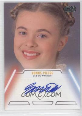 2013 Topps Star Wars Jedi Legacy Autographs #NoN - Bonnie Piesse as Beru Whitesun