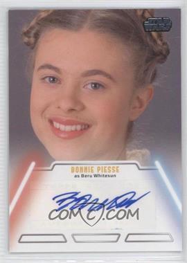 2013 Topps Star Wars Jedi Legacy Autographs #NoN - Bonnie Piesse as Beru Whitesun